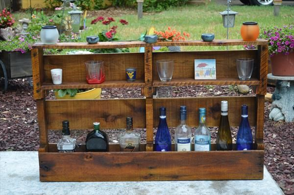 Wooden Pallet Wine Rack | 101 Pallets