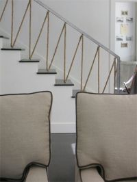 rope stair | neutrals and naturals | Pinterest