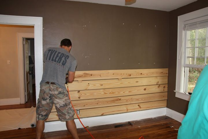 How Install Board And Batten Wainscoting