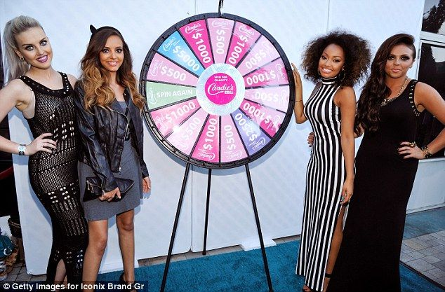 British Girl Group Little Mix (Perrie Edwards, Jade Thirwall, Leigh-Anne Pinnock and Jesy Nelson)