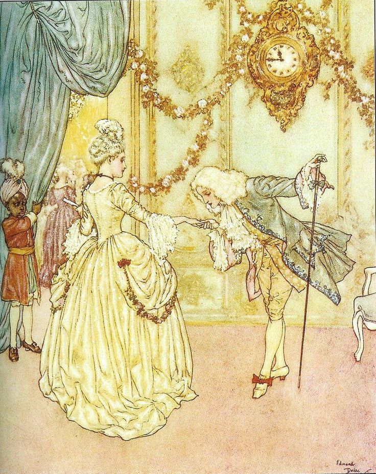 Cinderella- by Edmund Dulac