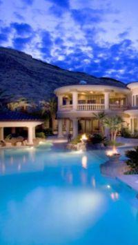 Luxury Beach Homes Wallpaper | www.imgkid.com - The Image ...