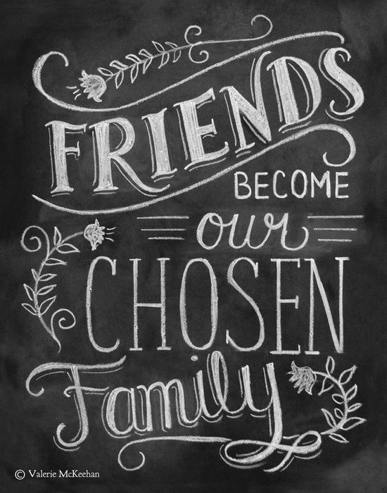 Best Friend Memories: Friendship Print - Friendship Gift - Friend Quote 11x14 Print - Hand Lettered Print - Gift for Best Friend - Chalkboard Art - Chalk Art. $29.00, via Etsy.