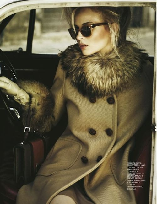 fur collar, great jacket