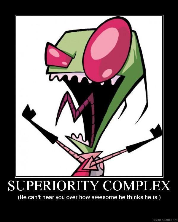 People Superiority Complex