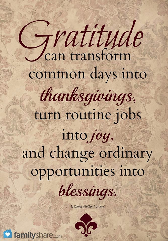 Click the quote to see a beautiful Thanksgiving video you can share with your family!