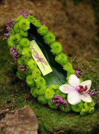 dresses made out of flowers | Garden  -- | Pinterest