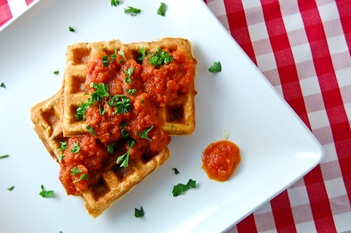 yummy healthy waffle recipes for dinner glamour waffles
