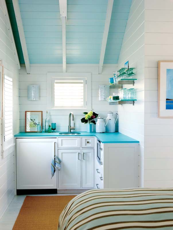 Blue Ceilings | Beach Decor | Seaside Inspired | Coastal Living | Decorating
