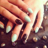 short stiletto nails   I dream in color.   Pinterest