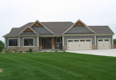 Exterior Ranch Home Colors
