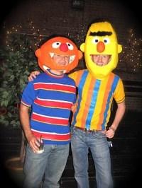 Bert and Ernie Halloween Costume   Halloween   Pinterest