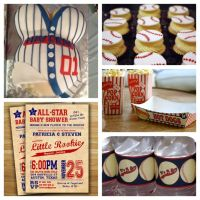 Baby Shower Food Ideas: Baseball Themed Baby Shower Ideas