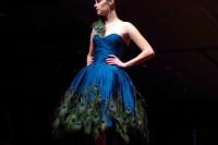 peacock bridesmaid dress?