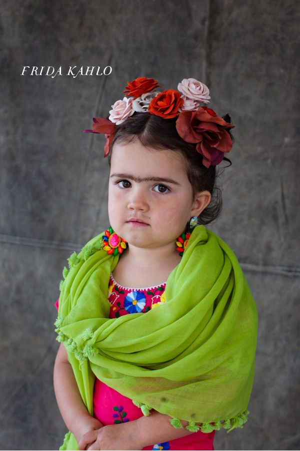Baby Frida! Little artist costumes via @Jordan Ferney #Halloween