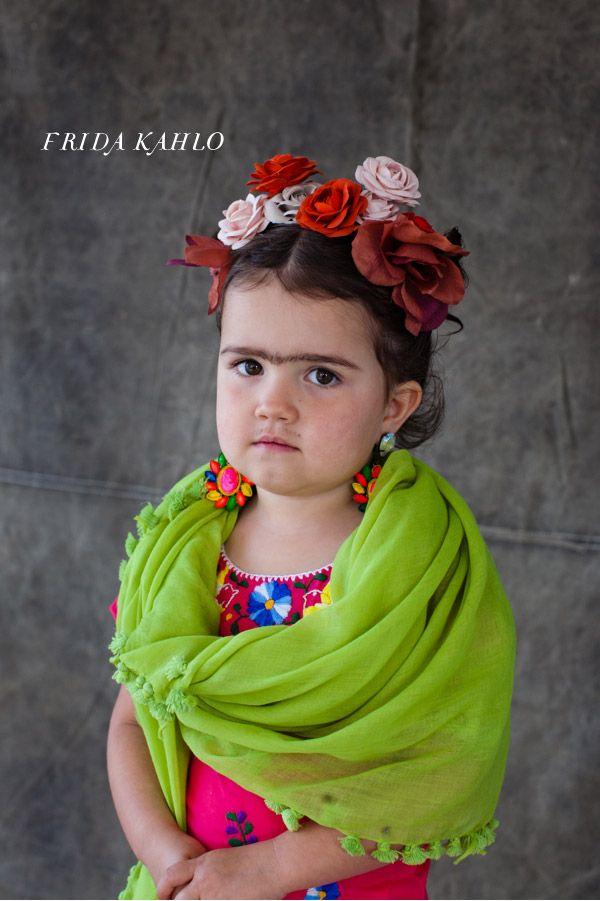 Baby Frida! Little artist costumes via @Jordan Ferney #Halloween