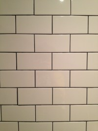 Subway tile with dark grout | Kitchen Ideas | Pinterest