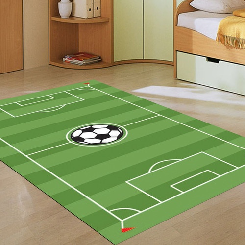 Soccer Pitch Rug Boys Rooms Pinterest