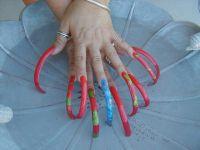 Uberlong! | I like acrylic nails super long! | Pinterest