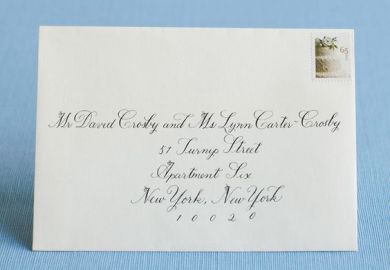 How To Address Wedding Invitations Etiquette Wedding