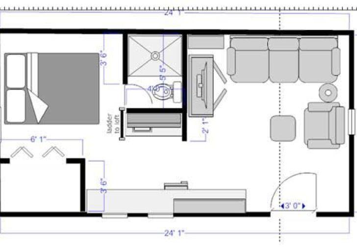 12 X 24 Apartment Floor Plans