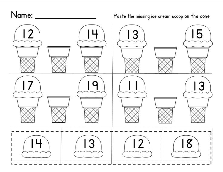 Missing Numbers in a Sequence (1-10 and 10-20); Common