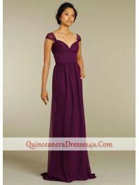 Plum Coloured Bridesmaid Dresses Uk