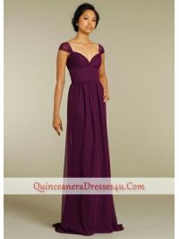 Plum Coloured Bridesmaid Dresses Uk - Flower Girl Dresses