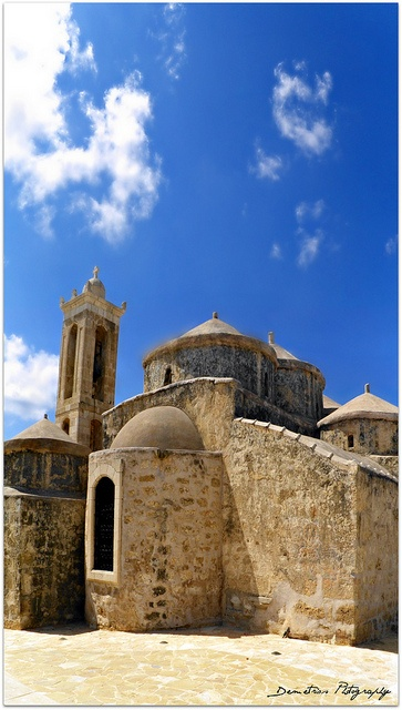 Cyprus Yeroskipou Five-domed Byzantine church of Agia Paraskevi,11th century by δημητριος, via Flickr