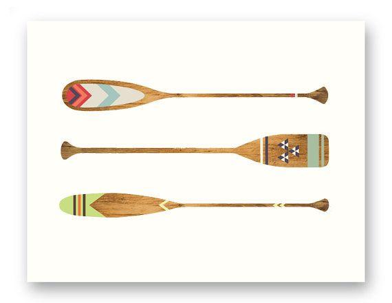 Canoe Paddle Wall Decor