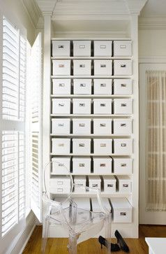 Contemporary Shoe Storage