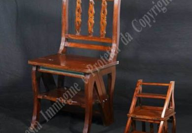 Library Chair Wood