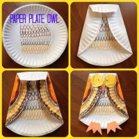 Paper Plate Owl | kids | Pinterest