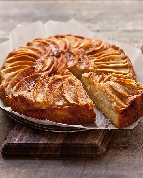 danish apple cake recipes cakes pinterest