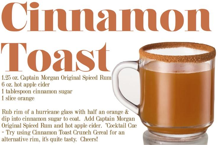 cinnamon toast hot tottie :)