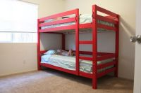 Simple Bunk Bed Plans   Home Style   Pinterest