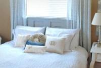 Headboard/bed under window