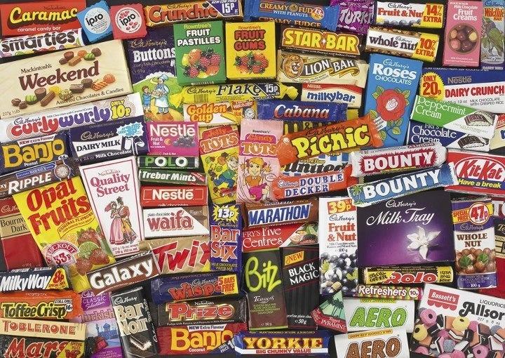Popular Foods 80s