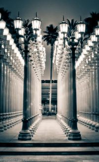 LACMA Lamp Posts | Inspire me | Pinterest