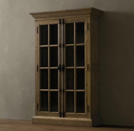 Restoration Hardware cabinet  Cabin in Colorado  Pinterest