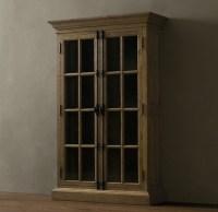 Restoration Hardware cabinet. | Cabin in Colorado | Pinterest
