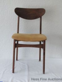 Mid Century Modern Bent Plywood Side Chair 1950s 1960s ...