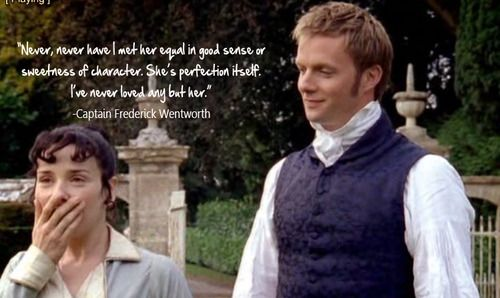 Persuasion (2007) - starring Sally Hawkins as Anne Elliot + Rupert Penry-Jones as Captain Frederick Wentworth