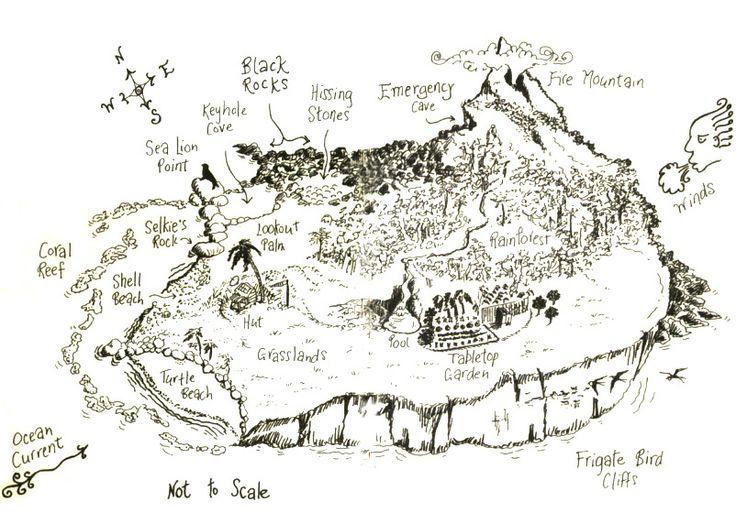 Nim's Island map