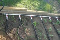 Soaker Hose Manifold Placed In Garden | murray | Pinterest