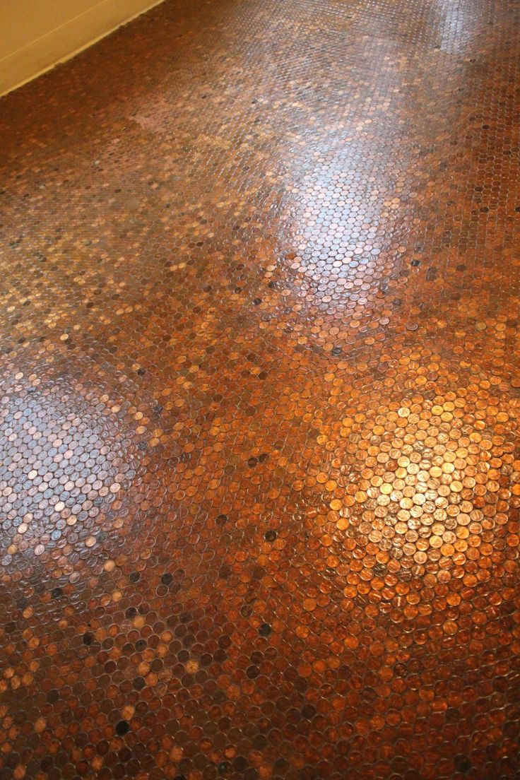 Penny Floor  For the Home  Pinterest