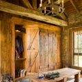 Rustic mudroom home decor amp log home ideas pinterest