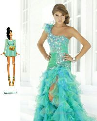 Disney inspired #prom dress. #Jasmine | PROM! | Pinterest