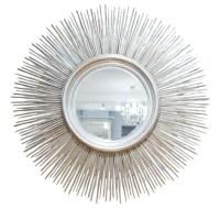 Silver Starburst Mirror | Silver | Pinterest