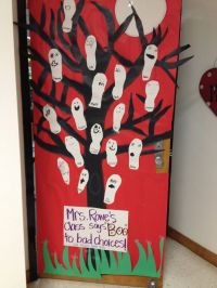 Red Ribbon Week door decorations!